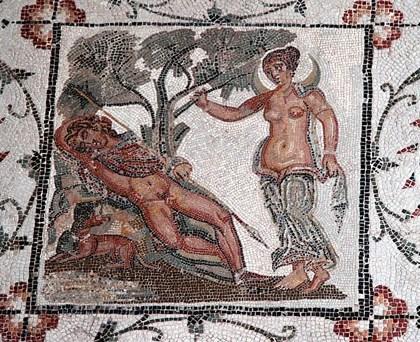 Музей мозаики Бардо в Тунисе